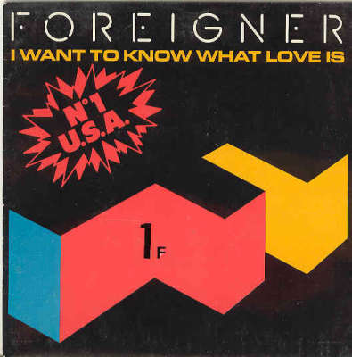 Foreigner - Want to Know What Love Is